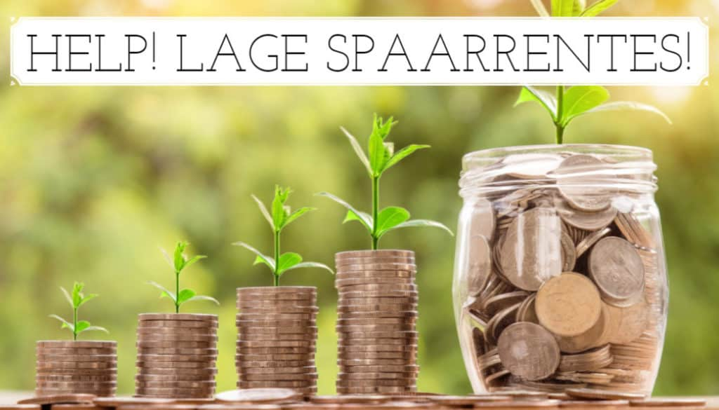 Lage spaarrente - Finance Monkey