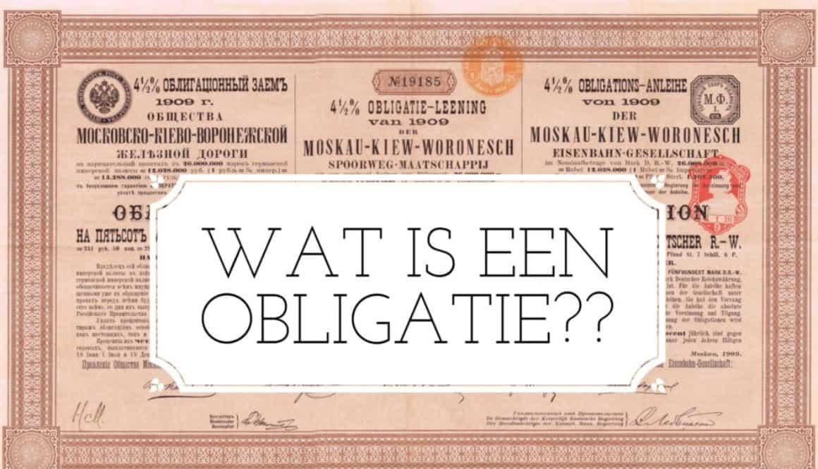 Obligatie - Finance Monkey