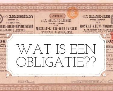 Obligatie - Finance Monkey